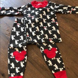 Hanna andersson sz 80 (18-24 mos) pajamas Mickey